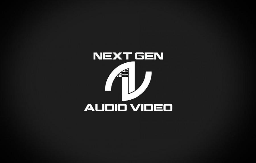 Next Gen Audio Video Logo BW