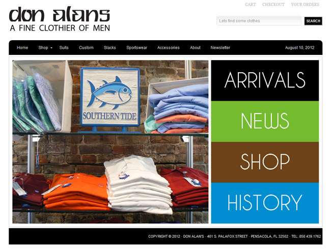 Don-Alans-Homepage