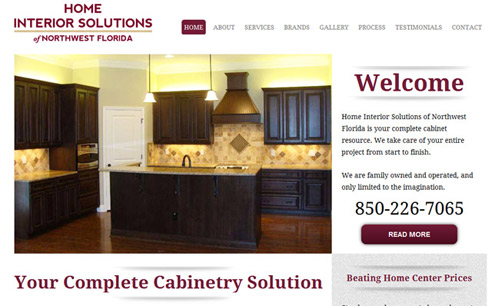 Home-Interior-Solutions Website