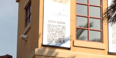 Destin Commons QR-Code Ads