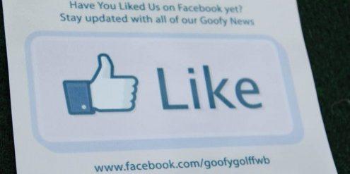 Goofy Golf Facebook Like2