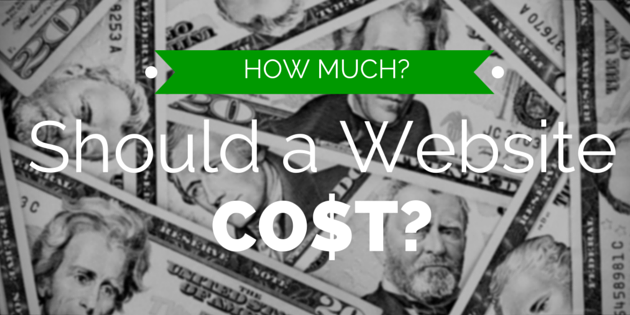 how much should a website cost